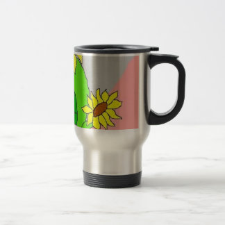 Mug De Voyage fleurs de tournesol