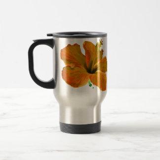 Mug De Voyage Fleurs oranges de ketmie