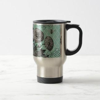Mug De Voyage Floral vintage moderne