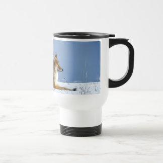 Mug De Voyage Fox dans la neige