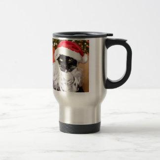 Mug De Voyage Franny Claus Père Noël triste Kitty