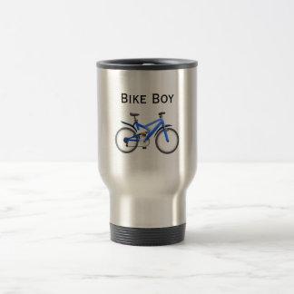 Mug De Voyage Garçon de vélo inoxydable