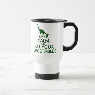 Mug De Voyage Gardez le calme et mangez vos légumes