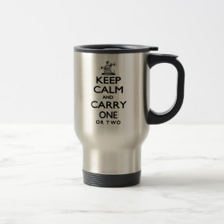 Mug De Voyage Gardez le calme et portez un