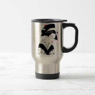Mug De Voyage Geisha japonais