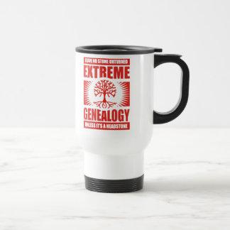 Mug De Voyage Généalogie extrême - aucune pierre Unturned