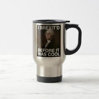 Mug De Voyage George Washington Brexit'd avant qu'il ait fait