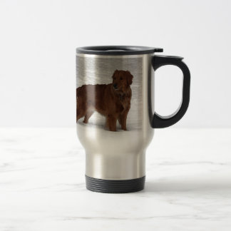 Mug De Voyage Golden retriever