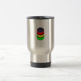Mug De Voyage Graphique en acier de conception de tambour