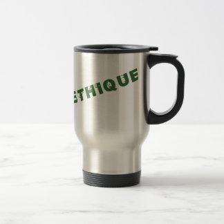 Mug De Voyage green poéthique
