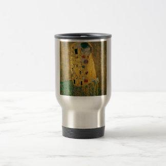 Mug De Voyage Gustav Klimt l'or de Nouveau Jugendstil d'art de