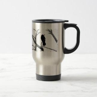 Mug De Voyage Hiver Raven Edgar Allan Poe de B&W