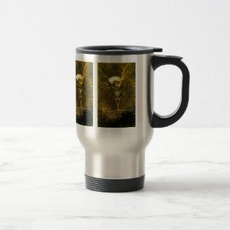 Mug De Voyage Homme squelettique par Odilon Redon