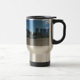 Mug De Voyage Horizon de Pittsburgh de parc de PNC