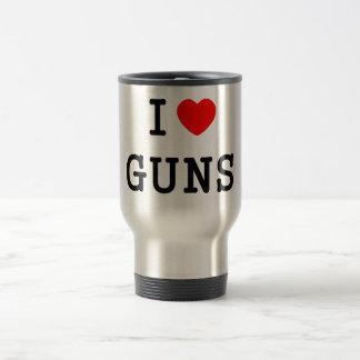 Mug De Voyage I armes à feu de coeur