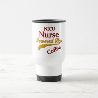 Mug De Voyage Infirmière de Nicu actionnée par le café