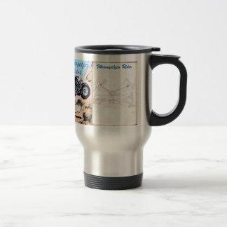 Mug De Voyage Insecte de cavalier de fibromyalgie