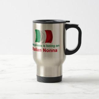 Mug De Voyage Italien heureux Nonna