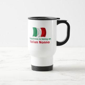 Mug De Voyage Italien heureux Nonno