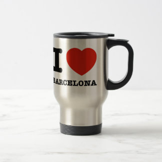 Mug De Voyage J'aime Barcelone