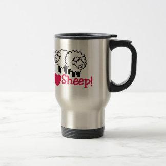 Mug De Voyage J'aime des moutons