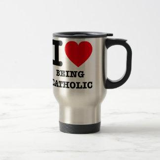 Mug De Voyage J'aime être catholique