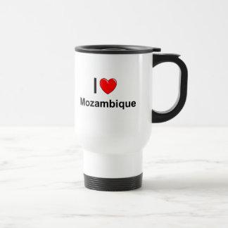 Mug De Voyage J'aime le coeur Mozambique