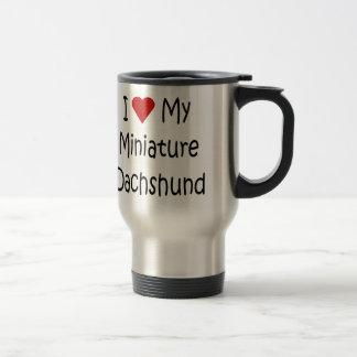 Mug De Voyage J'aime mes cadeaux miniatures d'amoureux des