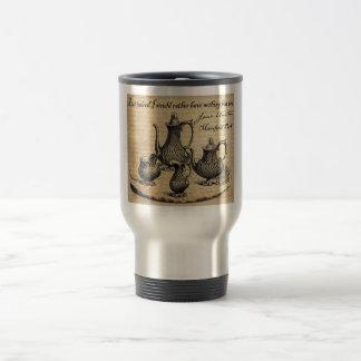 Mug De Voyage Jane Austen : Rien mais thé