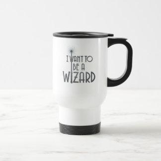 Mug De Voyage Je veux être un magicien
