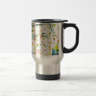Mug De Voyage John Fitzgerald Kennedy - aquarelle portrait.3
