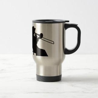 Mug De Voyage Joueur de trombone dans la maison du DA