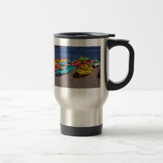 Mug De Voyage Kayaks colorés