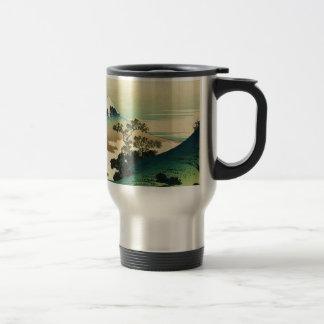 Mug De Voyage Koshu Inume Toge - art de Katsushika Hokusai