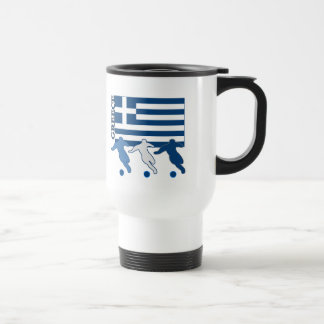 Mug De Voyage La Grèce - footballeurs