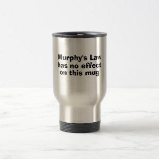 Mug De Voyage La loi de Murphy n'exerce aucun effet sur cette