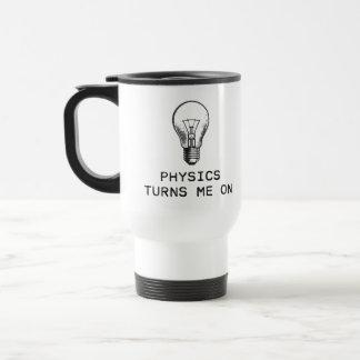 Mug De Voyage La physique m'allume