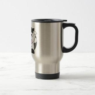 Mug De Voyage La vache indique le μ