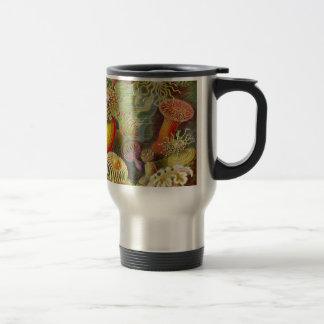 Mug De Voyage La vie d'océan d'Actinae d'Ernst Haeckel
