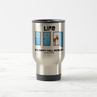 Mug De Voyage La vie est un problème de Monty Hall (trois