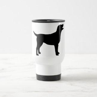 Mug De Voyage Labrador retriever (dans le noir)