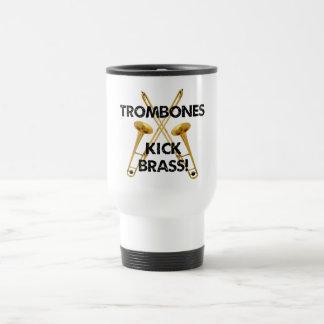 Mug De Voyage Laiton de coup-de-pied de trombones !