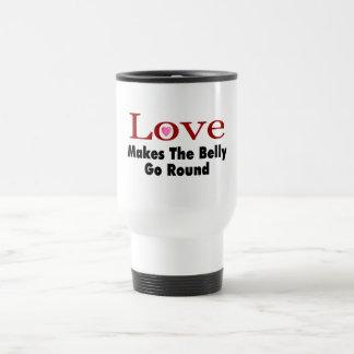 Mug De Voyage L'amour fait le ventre aller en rond