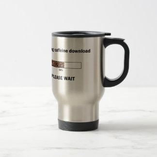 Mug De Voyage Lancement du téléchargement de caféine