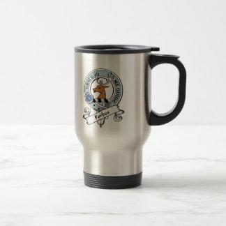 Mug De Voyage Le clan de Forbes Badge