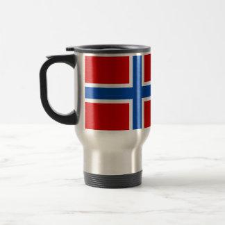 Mug De Voyage Le drapeau de la Norvège