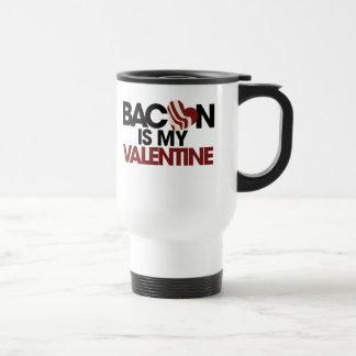 Mug De Voyage Le lard est mon Valentine