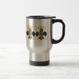 Mug De Voyage Le mardi gras Fleur célèbre des cadeaux