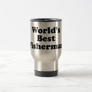 Mug De Voyage Le meilleur pêcheur du monde