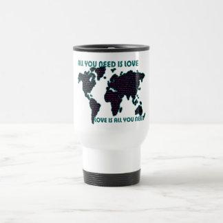 Mug De Voyage Le monde tout de Beatles que vous avez besoin est